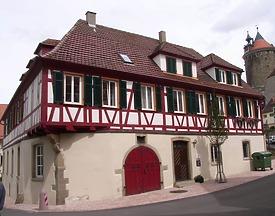 Süd - Westseite / Dekanat in 74354 Besigheim (2007 - Denkmalpflegerischer Werteplan, Gesamtanlage Besigheim, Regierungspräsidium Stuttgart)