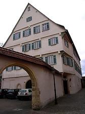 Amtsgerichtsgebäude in 74354 Besigheim (30.09.2015 - Denkmalpflegerischer Werteplan, Gesamtanlage Besigheim)