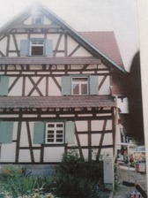"""Fachwerkhaus """"S´Krämer-Michels"""" in 77855 Achern-Önsbach (08.03.2016 - LDA Freiburg, Dokumentationsarchiv)"""