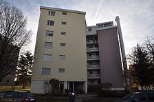 """Gebäude A Außen Nord / Wohnsiedlung """"Rauher Kapf"""" in 71032 Böblingen, Rauher Kapf (11.12.2015 - strebewerk.)"""