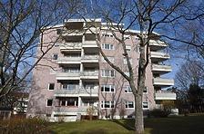"""Gebäude A Außen Süd / Wohnsiedlung """"Rauher Kapf"""" in 71032 Böblingen, Rauher Kapf (11.12.2015 - strebewerk.)"""