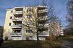 """Gebäude D Außen Süd / Wohnsiedlung """"Rauher Kapf"""" in 71032 Böblingen, Rauher Kapf (11.12.2015 - strebewerk.)"""