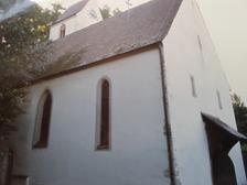 Kath. Pfarrkirche St.Sebastian in 79189 Bad Krozingen, Schlatt (15.03.2016 - LDA Freiburg, Dokumentationsarchiv)
