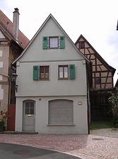 Pfarrgasse 12 / Wohnhaus in 74354 Besigheim (01.01.2007 - Denkmalpflegerischer Werteplan, Gesamtanlage Besigheim, Regierungspräsidium Stuttgart, Referat Denkmalpflege, 12.11.2007)