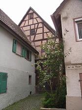 Scheune hinter/zum Wohnhaus Pfarrgasse 12 / Wohnhaus in 74354 Besigheim (01.01.2007 - Denkmalpflegerischer Werteplan, Gesamtanlage Besigheim, Regierungspräsidium Stuttgart, Referat Denkmalpflege, 12.11.2007)