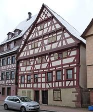 Fachwerkhaus in 71263 Weil der Stadt (11.04.2016 - Stefan King)