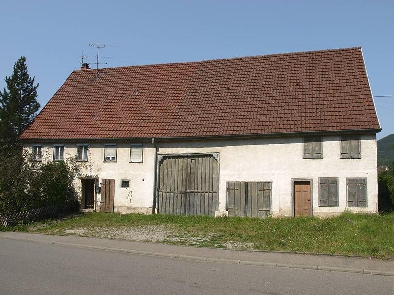 Bauernhaus » Objektansicht » Datenbank Bauforschung/ Restaurierung