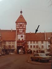 Mühlentor mit Kaisertörle in 78199 Bräunlingen (28.04.2016 - Bernd Baldszuhn, Offenburg)