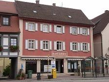 Westseite / Wohn- und Geschäftshaus in 74354 Besigheim (Denkmalpflegerischer Werteplan,  Gesamtanlage Besigheim  Regierungspräsidium Stuttgart)