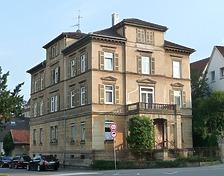 Nord- Ostseite / Villa des Ölfabrikanten Kollmar  in 74354 Besigheim (26.07.2016 - M.Haußmann)