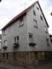 SüdWestseite / Kirchstraße 3 in 74354 Besigheim (Denkmalpflegerischer Werteplan,  Gesamtanlage Besigheim  Regierungspräsidium Stuttgart)