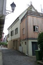 Rückseite (von Osten) / Wohn- und Geschäftshaus in 74354 Besigheim (15.09.2016 - M. Haußmann)