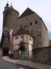 Ansicht von Nordwest / Sog. Steinhaus, ehem. Fruchtkasten und Gefängnis in 74354 Besigheim (2007 - Denkmalpflegerischer Werteplan, Gesamtanlage Besigheim, Regierungspräsidium Stuttgart)