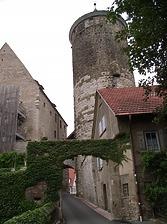 Ansicht von Süden / Oberer Turm, sog. Schochenturm in 74354 Besigheim (2007 - Denkmalpflegerischer Werteplan, Gesamtanlage Besigheim, Regierungspräsidium Stuttgart)