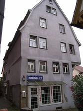 Nordostseite / Wohn- und Geschäftshaus in 74354 Besigheim (Denkmalpflegerischer Werteplan,  Gesamtanlage Besigheim  Regierungspräsidium Stuttgart)