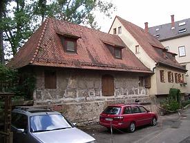Ansicht von Osten / Scheune in 74354 Besigheim (Denkmalpflegerischer Werteplan, Gesamtanlage Besigheim, Regierungspräsidium Stuttgart)