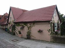 Westseite / Wohnhaus in 74354 Besigheim (Denkmalpflegerischer Werteplan,  Gesamtanlage Besigheim  Regierungspräsidium Stuttgart)