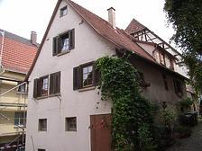 Westseite / Wohnhaus in 74354 Besigheim (2007 - Denkmalpflegerischer Werteplan,  Gesamtanlage Besigheim  Regierungspräsidium Stuttgart)