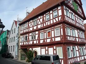 Ansicht von Osten / Wohnhaus (ehemalige Stadtschreiberei) in 74354 Besigheim (2016 - M. Haußmann)