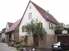Ansicht von Norden / Wohnhaus in 74354 Besigheim (2007 - Denkmalpflegerischer Werteplan, Gesamtanlage Besigheim, Regierungspräsidium Stuttgart)