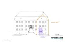 Rekonstruktionsplan Ansicht / Wasserschloss Geislingen in 72351 Geislingen (11.07.2016 - Stefan King)