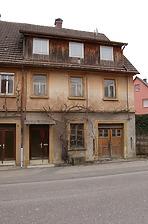 Südwestansicht / Alte Schmiede in 74670 Forchtenberg, Sindringen (08.04.2013)