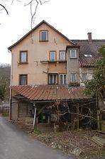 Nordostansicht / Alte Schmiede in 74670 Forchtenberg, Sindringen (08.04.2013)