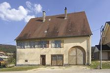 Ehem. Pfarrhaus in 78194 Immendingen-Ippingen (04.04.2005 - Verfasser: Josef Metzger, Architekt, Immendingen Verbleib: LDA Freiburg, Dokumentationsarchiv)
