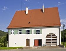 Ehem. Pfarrhaus in 78194 Immendingen-Ippingen (18.07.2007 - Verfasser: Josef Metzger, Architekt, Immendingen Verbleib: LDA Freiburg, Dokumentationsarchiv)