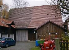 Ansicht West, / Scheune des sog. Widdumhofes in 71069 Sindelfingen-Maichingen (Armin Seidel)