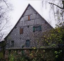 Ansicht Nord / Scheune des sog. Widdumhofes in 71069 Sindelfingen-Maichingen (Armin Seidel)