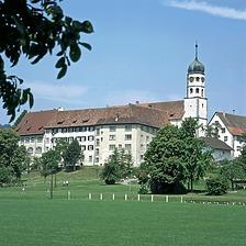 Die ehemalige Stiftsanlage / Ehem. Augustiner-Chorherrenstift in 78337 Öhningen (1992 - www.kloester-bw.de)