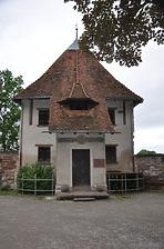 Rottweil, Lorenzgasse 17- Pulverturm, Südwestansicht / Sog. Pulverturm in 78628 Rottweil (Landesamt für Denkmalpflege Freiburg, Bildarchiv)