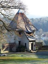 Rottweil, Lorenzgasse 17- Pulverturm, Südansicht / Sog. Pulverturm in 78628 Rottweil (Landesamt für Denkmalpflege Freiburg, Bildarchiv)