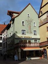Rottweil, Rathausgasse 2- Wohn- und Geschäftshaus, Südwestansicht / Wohn- und Geschäftshaus in 78628 Rottweil (Landesamt für Denkmalpflege Freiburg, Bildarchiv)