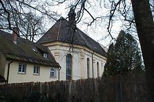 Kath. Pfarrkirche Ruhe Christi- Nordostansicht / Kath. Pfarrkirche Ruhe-Christi in 78628 Rottweil (Landesamt für Denkmalpflege Freiburg, Bildarchiv)