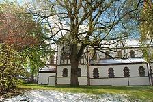 Kath. Pfarrkirche St. Pelagius- Nordostansicht / Kath. Pfarrkirche St. Pelagius in 78628 Rottweil (Landesamt für Denkmalpflege Freiburg, Bildarchiv)