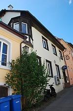 Südostansicht / Wohnhaus, ehem. Gasthaus Rebstock in 78628 Rottweil (Landesamt für Denkmalpflege Freiburg, Bildarchiv)