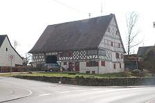 Nordostansicht / Wohnhaus in 78628 Rottweil-Göllsdorf, Gällsdorf (Landesamt für Denkmalpflege Freiburg, Bildarchiv)