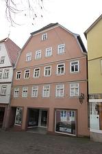 Ansicht Seite Hospitalstraße / Wohn- und Geschäftshaus in 97877 Wertheim (09.02.2017)