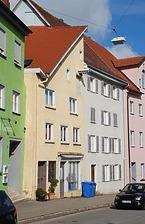 Rottweil, Neutorstraße 5- Wohn- und Geschäftshaus- Südostansicht / Wohn- und Geschäftshaus in 78628 Rottweil (Landesamt für Denkmalpflege Freiburg, Bildarchiv)
