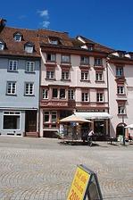 Rottweil, Hauptstraße 41- Westtrakt Ansicht von Süden / Wohnhaus Kameleck (Westbau) in 78628 Rottweil (Landesamt für Denkmalpflege Freiburg, Bildarchiv)