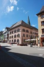 Rottweil, Hauptstraße 23, Altes Rathaus- Südostfassade / Altes Rathaus in 78628 Rottweil (Landesamt für Denkmalpflege Freiburg, Bildarchiv)