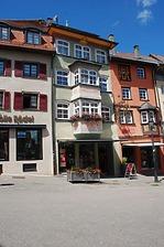 Wohn- und Geschäftshaus, Hauptstraße 7, Südseite / Wohn- und Geschäftshaus in 78628 Rottweil (Fotoarchiv Freiburg, Landesamt für Denkmalpflege)