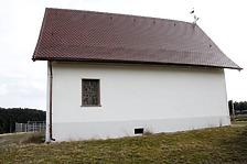Südansicht / Hardthauskapelle, sog. Ottilienkapelle in 78628 Rottweil (Fotoarchiv Freiburg, Landesamt für Denkmalpflege)