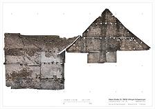Ansicht nördliche Parzellen- und Brandwand / Wohn- und Geschäftshaus in 78050 Villingen (Burghard Lohrum)