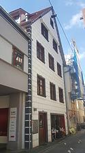 Nordostansicht der Nordfassade, Kohlgasse 20, Ulm / Wohn- und Geschäftshaus in 89073 Ulm / Donau (30.05.2018  - Christin Aghegian-Rampf)