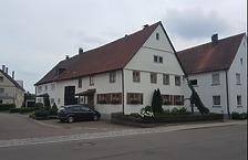 Südwestansicht des Wohnstallhauses, Ehmannstraße 17, Ulm-Jungingen / Wohnstallhaus in 89081 Ulm-Jungingen (29.05.2018 - Christin Aghegian-Rampf)