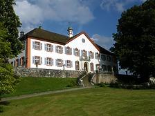 Schloss Bürgeln - Nordwestansicht / Schloss Bürgeln in 79418 Schliengen-Obereggenen (Fotoarchiv Freiburg, Landesamt für Denkmalpflege)