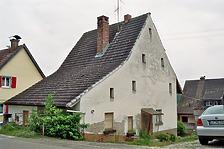 Wohnhaus, Efringen-Kirchen, Am Rebhang 9 + 11- Nordwestansicht / Wohnhaus in 79588 Efringen-Kirchen, Huttingen (Bildarchiv, Landesamt für Denkmalpflege im Regierungspräsidium Stuttgart, Dienstsitz Freiburg)
